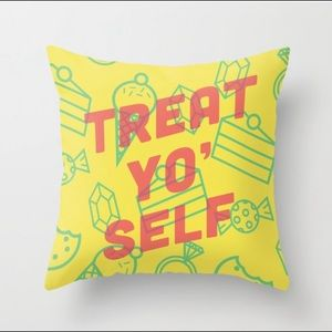 Other - 💕Treat yo self pillow cover pillowcase 16x16